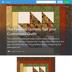 The Feverish Quilters: Get your Customized Quilts (with image) · feverishquilter