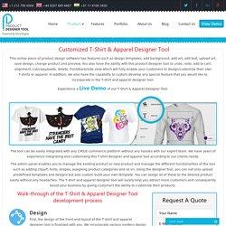 Customized Tshirt Design Software, Online T-Shirt Designer Tool