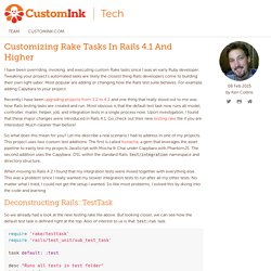 Customizing Rake Tasks In Rails 4.1 And Higher - CustomInk Technology Blog