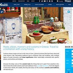 Customs and traditions in Greece