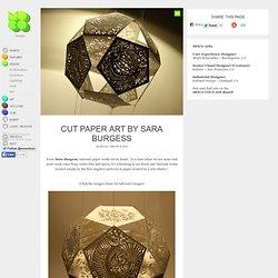 Sara Burgess - Cut Paper Artist