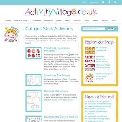 Cut and Stick Activities