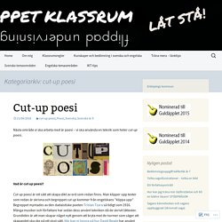 cut-up poesi