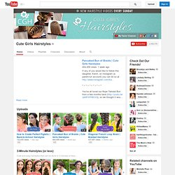 CuteGirlsHairstyles's Channel‬‏