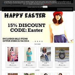 Hard To Find Cool Stuff - Japanese Inspired fashion - womans clothing