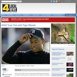 AT&T Cuts Ties with Tiger Woods