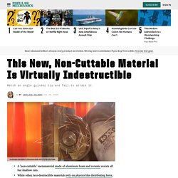 Non-Cuttable Material - Indestructible Bike Locks