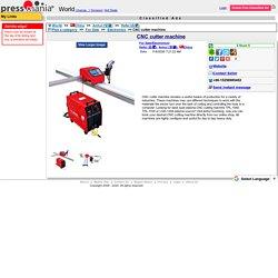 CNC cutter machine