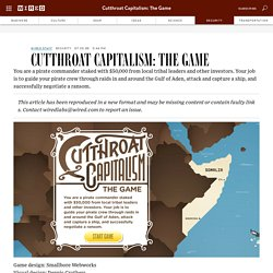 Cutthroat Capitalism: The Game