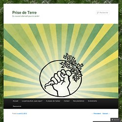 """La cuvette de plantation """"autonome"""""""