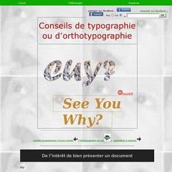 - orthotypographie intro