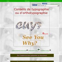 Orthotypographie