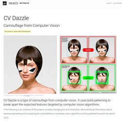 CV Dazzle – Adam Harvey