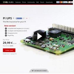 CW2. Pi UPS - The UPS for Raspberry Pi