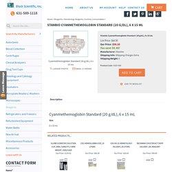 Stanbio Cyanmethemoglobin Standard (20 g/dL), 6 x 15 mL