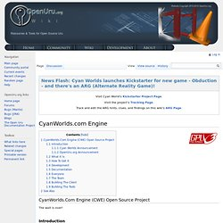 CyanWorlds.com Engine - OpenUru