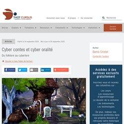 Cyber contes et cyber oralité - Thot Cursus