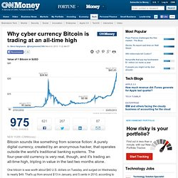 Why cyber currency Bitcoin is trading at an all-time high - Mar. 6, 2013