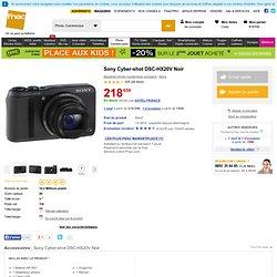 Sony Cyber-shot DSC-HX20V Noir - Fnac.com - Appareil photo numérique
