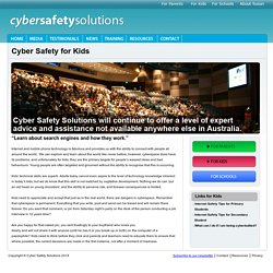 Cyber Safety Solutions - For Kids