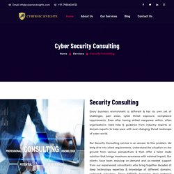 Top Cyber Security Consultants in Delhi NCR