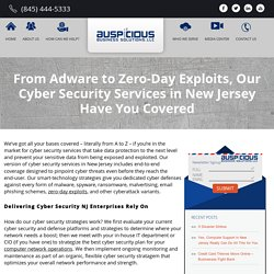 Cyber Security Services New Jersey