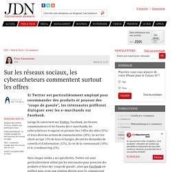 Sur les réseaux sociaux, les cyberacheteurs commentent surtout les offres