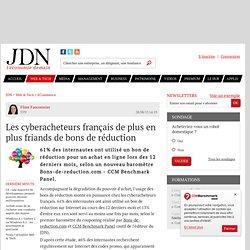 Les cyberacheteurs français de plus en plus friands de bons de réduction