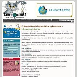 cyberacteurs présentation de l'association