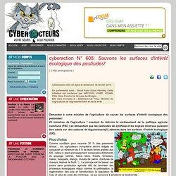 cyberaction Sauvons les surfaces d'intérêt écologique des pesticides!