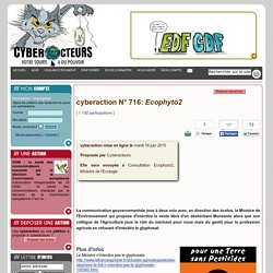 cyberaction Ecophyto2