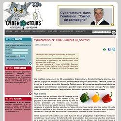 cyberaction Libérez le poivron