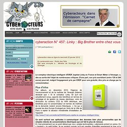 cyberaction Linky : Big Brother entre chez vous