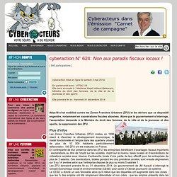 cyberaction Non aux paradis fiscaux locaux!