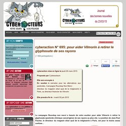 cyberaction roundup, pesticides