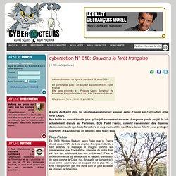 cyberaction Sauvons la forêt française