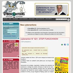Cyber actions et pétitions