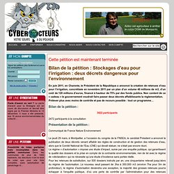 cyberaction STOP AUX SUBVENTIONS A LA POLLUTION