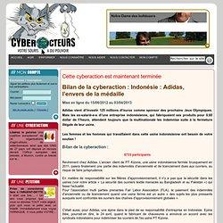 Bilan des cyberactions et pétitions de cyberacteurs