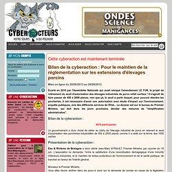 cyberaction Pour le maintien de la réglementation sur les extensions d'élevages porcins