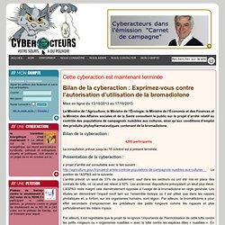 cyberaction Exprimez-vous contre l'autorisation d'utilisation de la bromadiolone