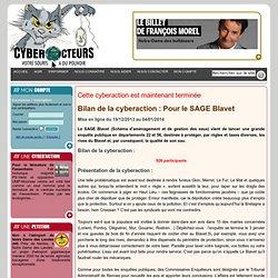 cyberaction Pour le SAGE Blavet