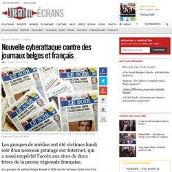 Nouvelle cyberattaque contre des journaux belges et français