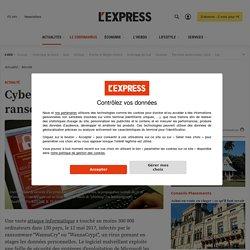"""Cyberattaque mondiale """"WannaCry"""", le virus de rançon qui chiffre les données"""