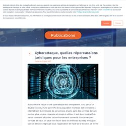 Cyberattaque : définition, code pénal attaque ddos -Répercussions