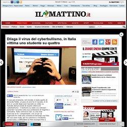 Dilaga il virus del cyberbullismo, in Italia vittima uno studente su quattro