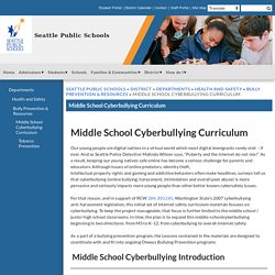 Middle School Cyberbullying Curriculum - Seattle Public Schools