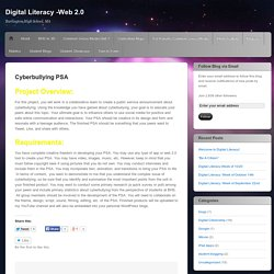 Digital Literacy -Web 2.0