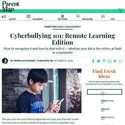 Cyberbullying 101: Remote Learning Edition