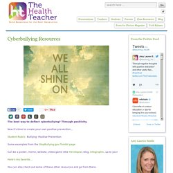 Cyberbullying Resources